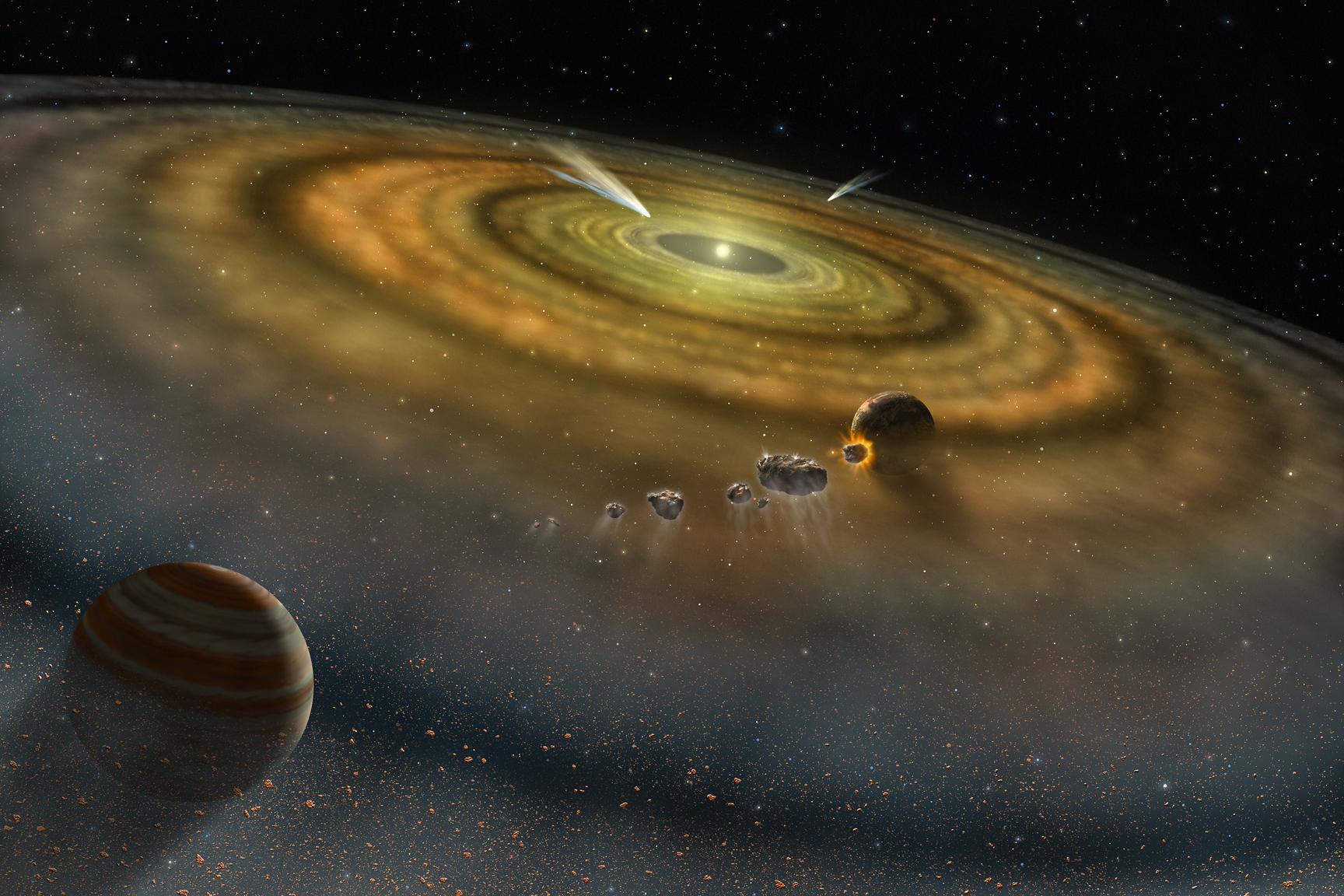 Solar System Formation NASA