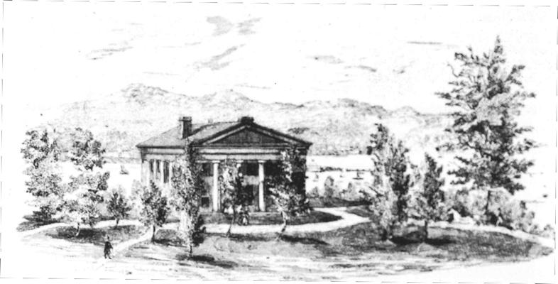 Nevis Mansion House 1850