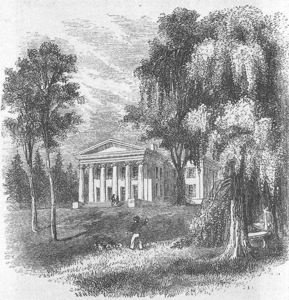 Nevis Mansion House 1861