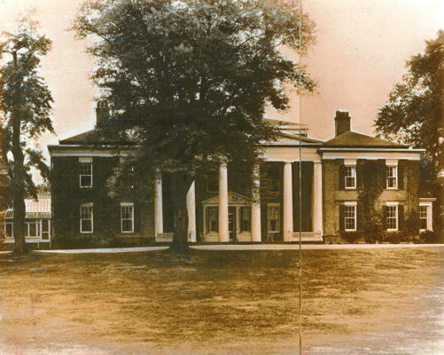 Nevis Mansion House 1938